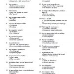 Printable Myers Briggs Personality Test | World Of Label   Free Printable Personality Test