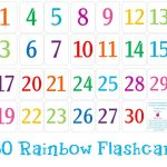 Printable Number Cards 1 30 | Numbers | Number Flashcards, Numbers   Free Printable Number Flashcards 1 30