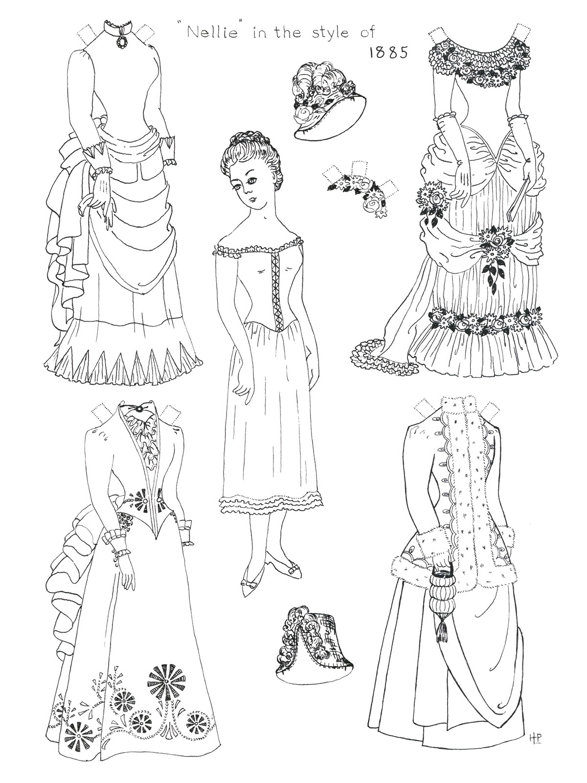 Printable Paper Doll Coloring Pages   Coloringme - Printable Paper Dolls To Color Free