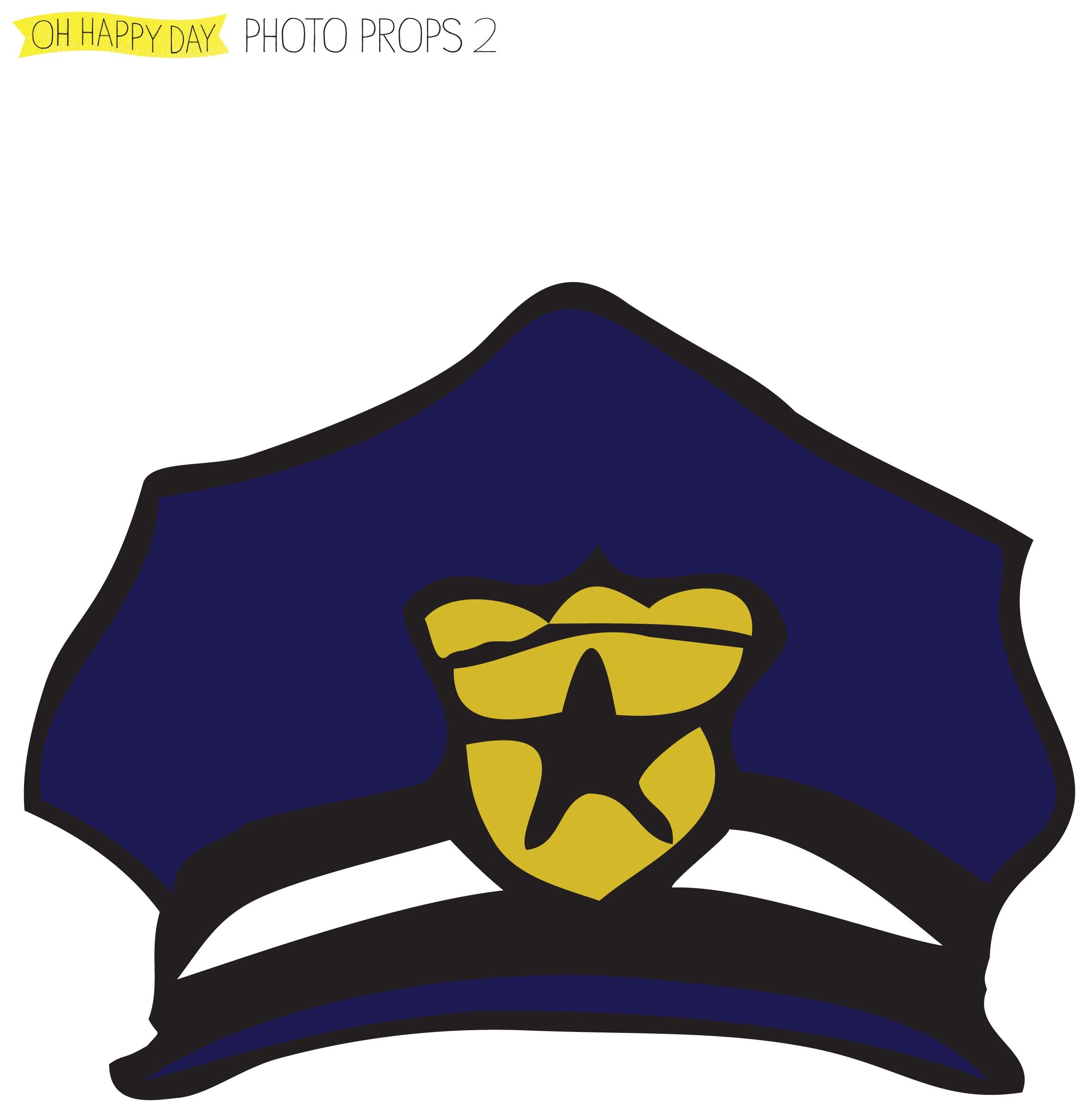 Printable Police Badge | Free Download Best Printable Police Badge - Free Printable Police Hat