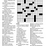 Printable Puzzles For Adults   Easy Word Puzzles Printable Festivals   Free Printable Christmas Crossword Puzzles For Adults
