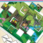 Printable Rainforest Animals File Folder Game   Itsy Bitsy Fun   Free Printable Preschool Folder Games