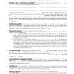 Printable Residential Free House Lease Agreement | Residential Lease   Free Printable Lease Agreement Forms