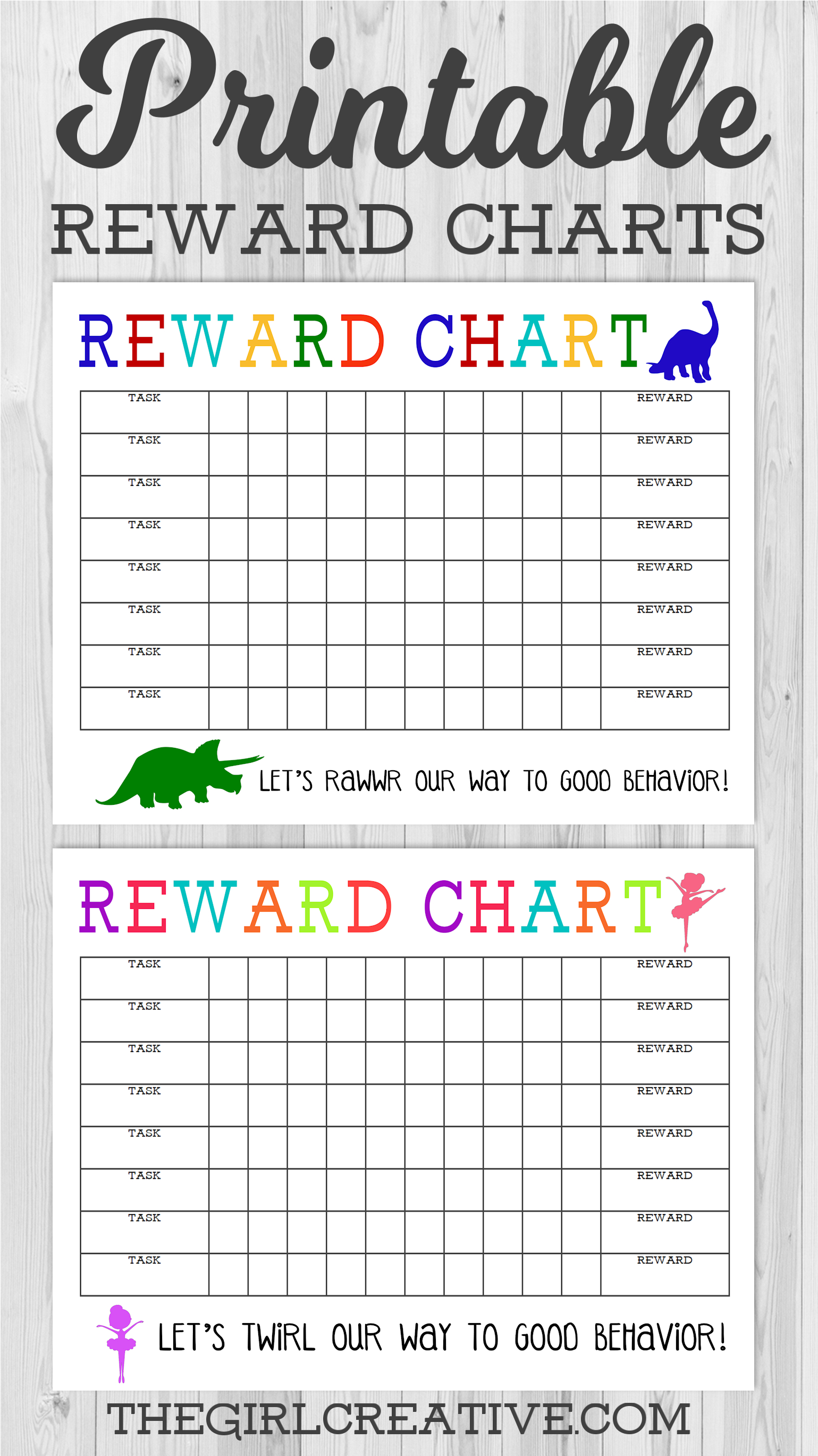 Printable Reward Chart | Share Today's Craft And Diy Ideas - Free Printable Reward Charts
