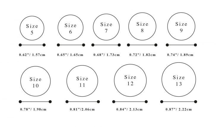Free Printable Ring Sizer Uk