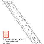 "Printable Rulers   Free Downloadable 12"" Rulers | Anthropology   Free Printable Cm Ruler"