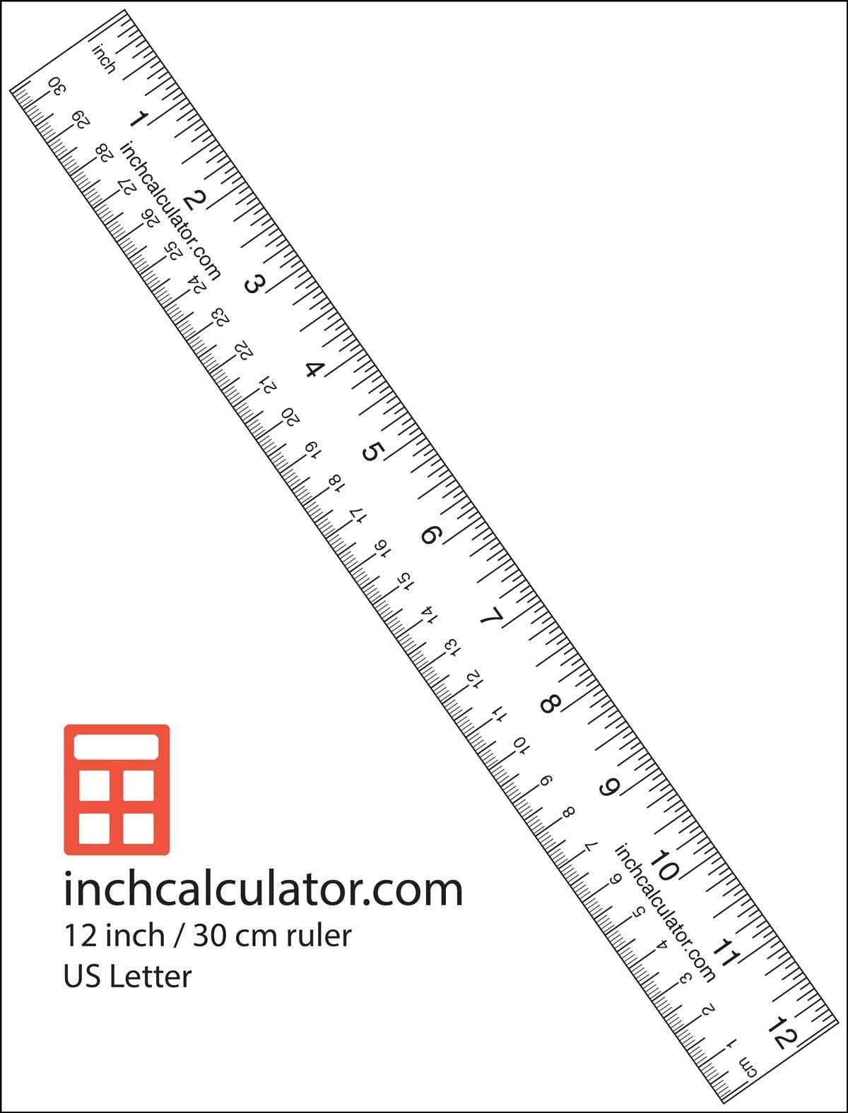 "Printable Rulers - Free Downloadable 12"" Rulers   Anthropology - Free Printable Ruler"