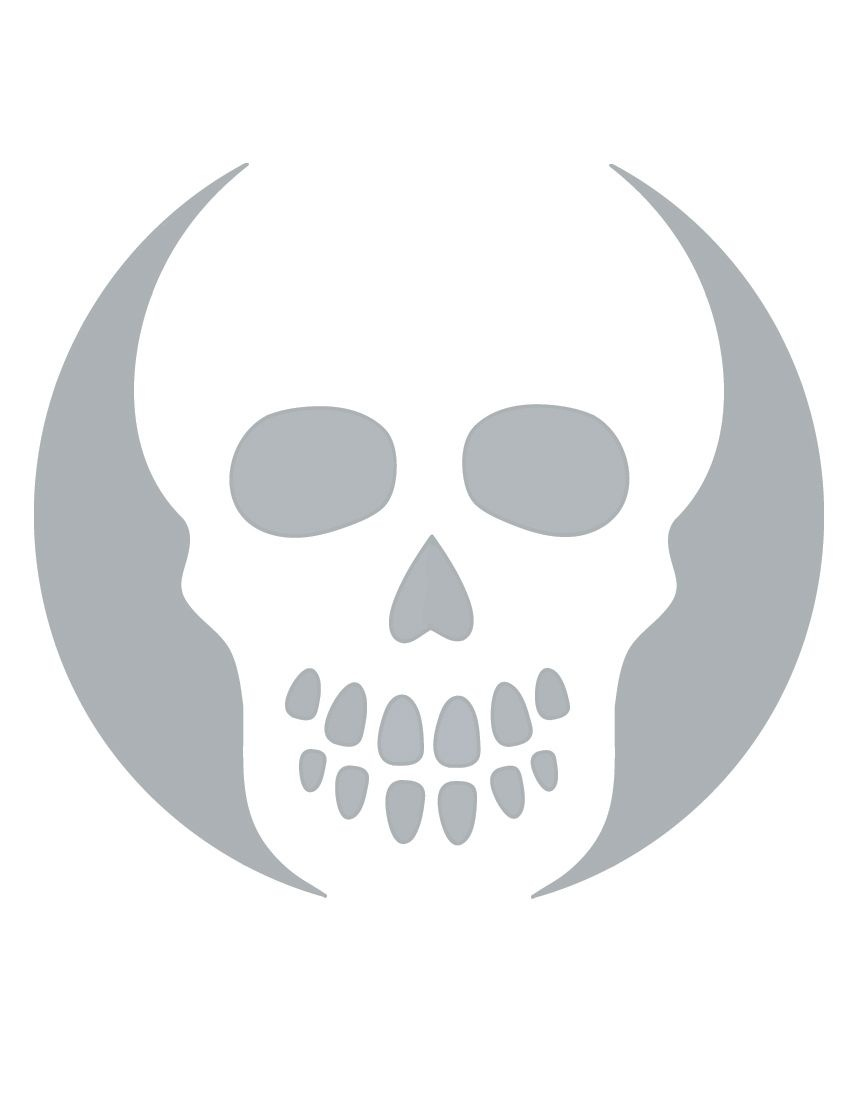 Printable Skull Stencil Coolest Free Printables   Halloween   Skull - Small Pumpkin Stencils Free Printable