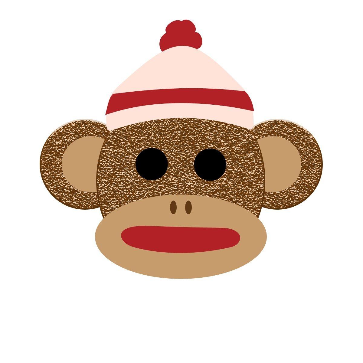 Printable Sock Monkey Clip Art For Free – 101 Clip Art | Monkey - Free Printable Sock Monkey Pictures