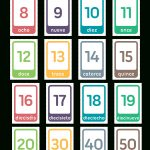 Printable Spanish Number Flash Cards   Free Printable Number Flashcards 1 30