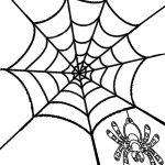 Printable Spider Web Coloring Pages For Kids | Cool2Bkids   Free Printable Spider Web