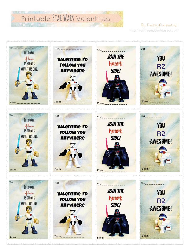 Printable Star Wars Valentines.pdf - You R2 Awesome! | Free - Star Wars Printable Cards Free