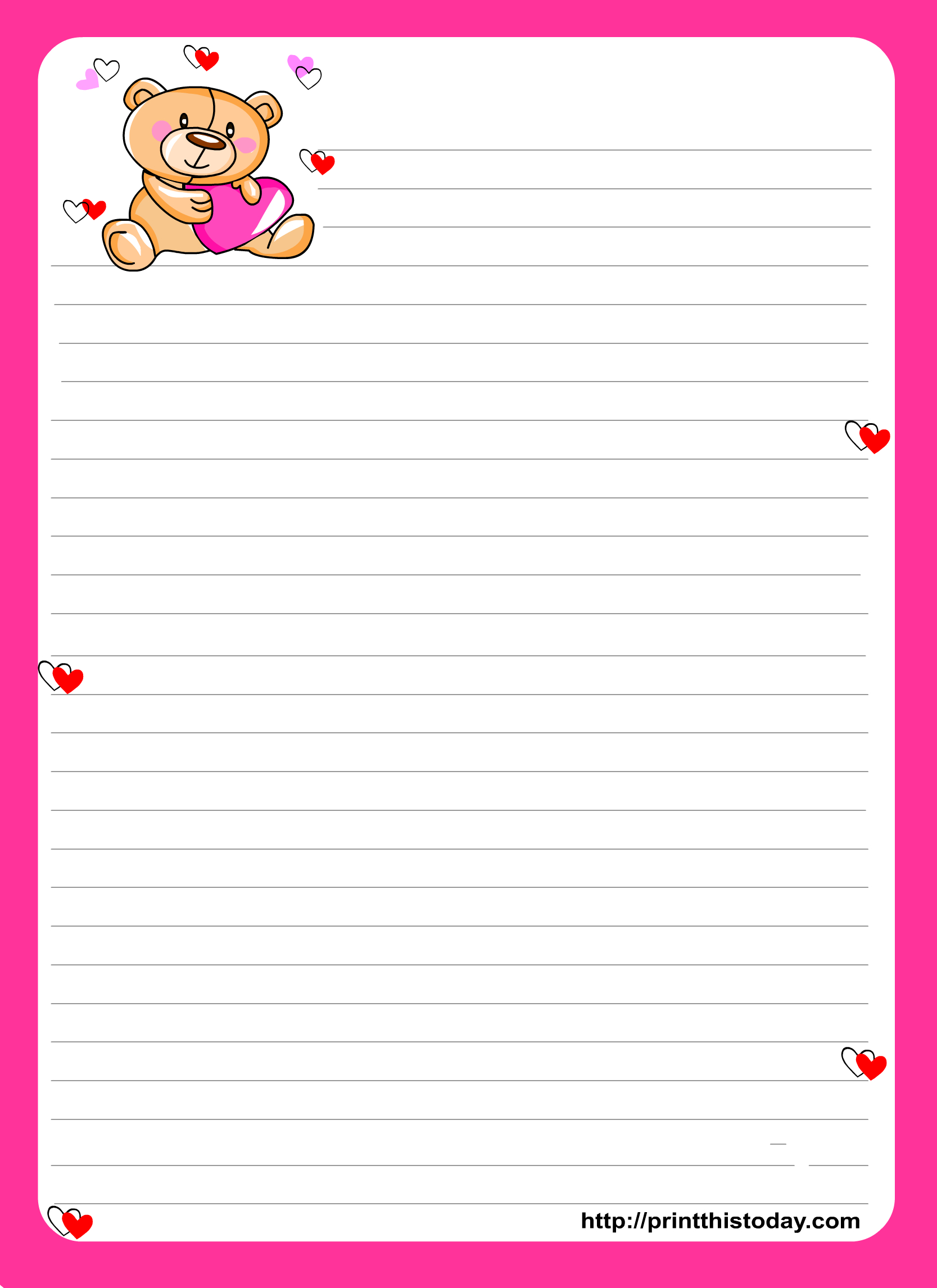 Printable Stationery Paper - Google Search   Stationery - Printables - Free Printable Stationery Paper