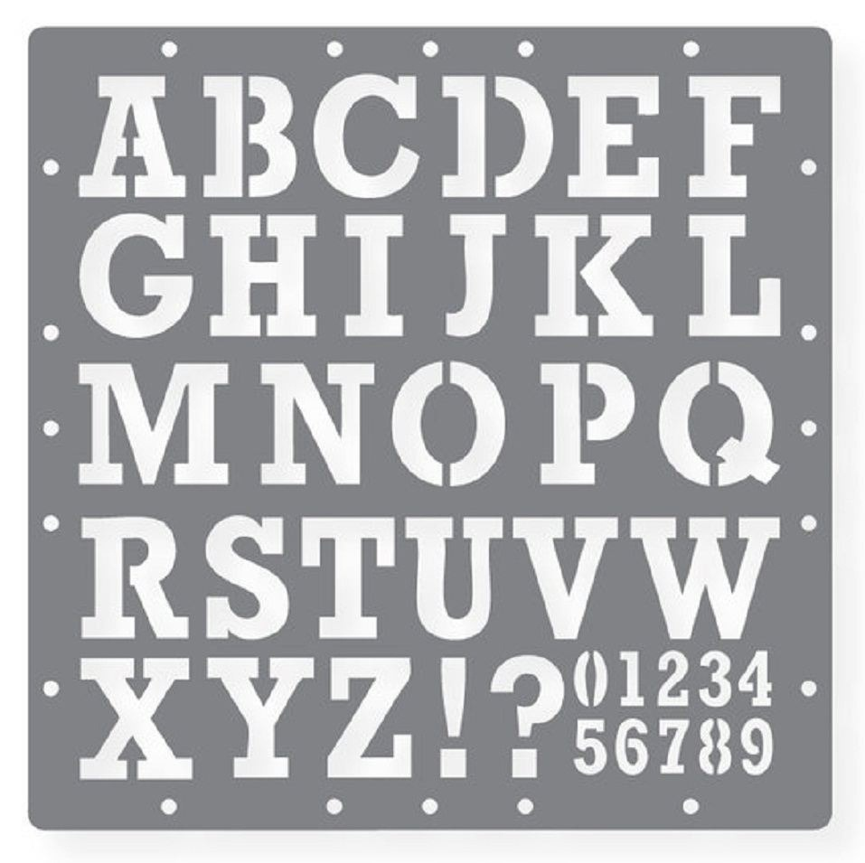 Printable Stencils Letters | Template Design In Printable Stencil - Free Printable Alphabet Stencils Templates