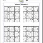 Printable Sudoku Puzzles | Room Surf   Free Printable Sudoku With Answers