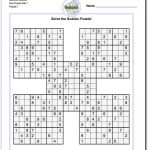Printable Sudoku Samurai! Give These Puzzles A Try, And You'll Be   Sudoku 16X16 Printable Free