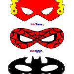 Printable Superhero Masks For Super Hero Day | Inkntoneruk Blog   Free Printable Superhero Masks