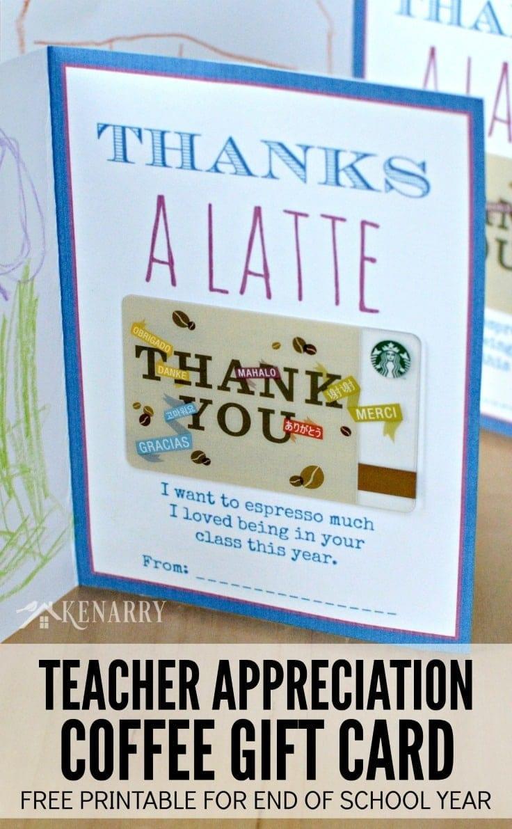 Printable Teacher Appreciation Card For The End Of School - Free Printable Teacher Appreciation Cards