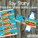 Printable Toy Story Water Bottle Labels Toy Story Lables Toy   Etsy   Free Printable Toy Story Water Bottle Labels