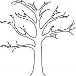 Printable Tree Template | Tree Craft   Cork Stamp Apple Tree   Art   Free Printable Tree Template