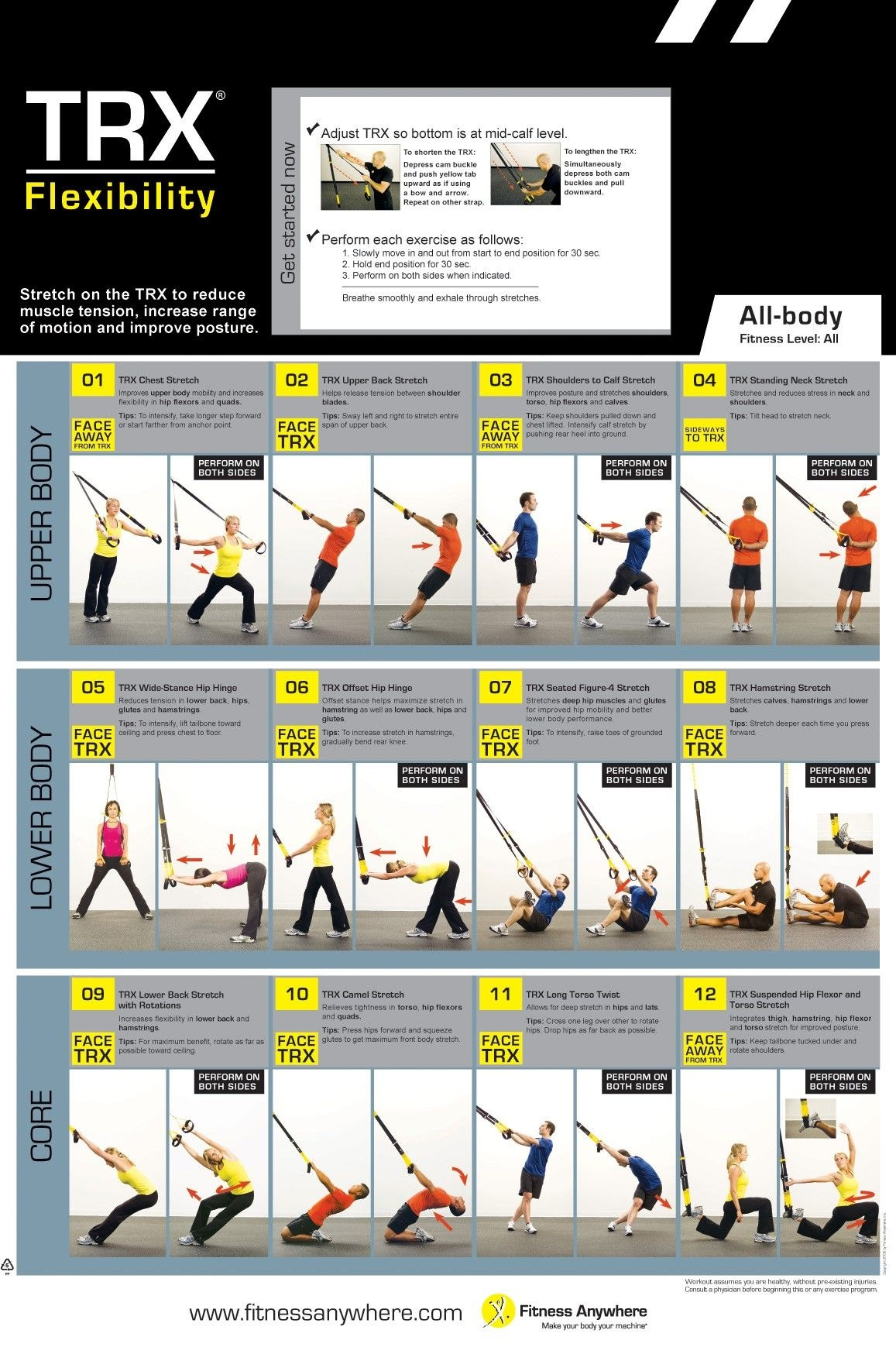 Printable Trx Workouts (67+ Images In Collection) Page 1 - Free Printable Trx Workouts