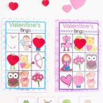 Printable Valentine's Bingo Game | Valentine's Day | Valentine Bingo   Free Printable Valentine Games For Adults