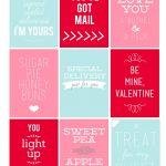 Printable Valentine's Day Tags   My Sister's Suitcase   Packed With   Free Printable Valentine Tags