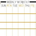 Printable Work Out Routines Unique Basic Full Body Workout Plus Free   Free Printable Workout Routines