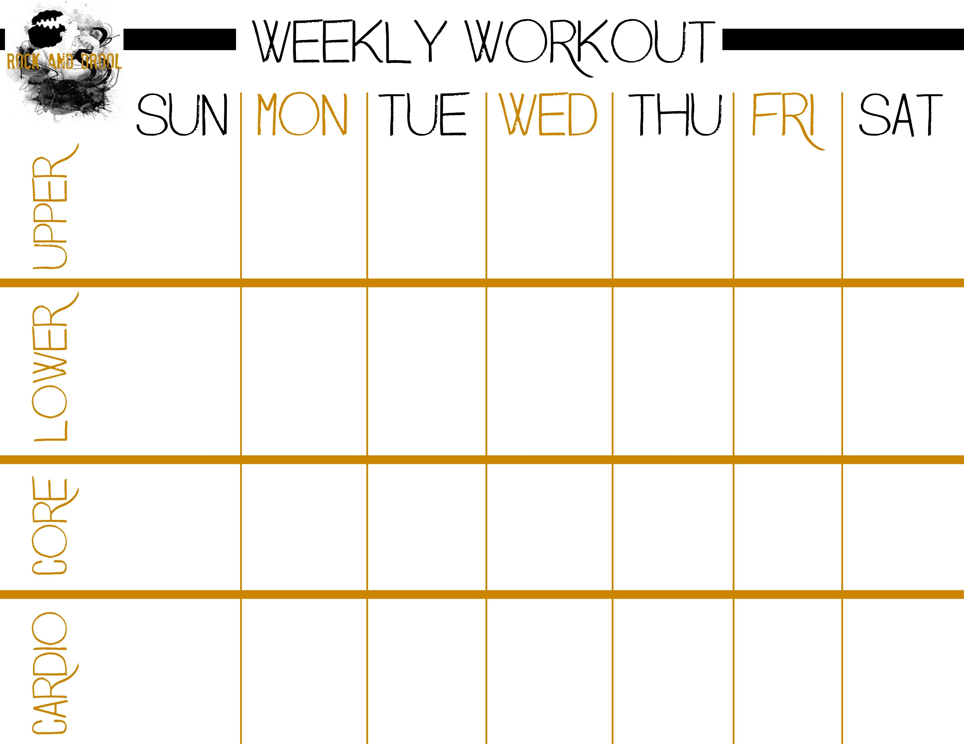 Printable Work Out Routines Unique Basic Full Body Workout Plus Free - Free Printable Workout Routines