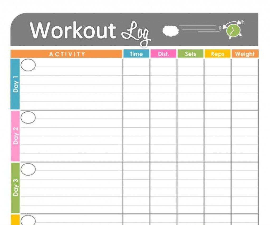 Printable Workout Calendar | Kiddo Shelter | Calendar Template - Free Printable Workout Log Template