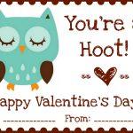 "Printables} ""owl Love You"" Valentines | A Night Owl Blog   Free Printable Owl Valentine Cards"