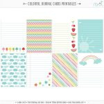 Printables | Planners | Project Life Freebies, Project Life Free   Free Printable Personal Cards