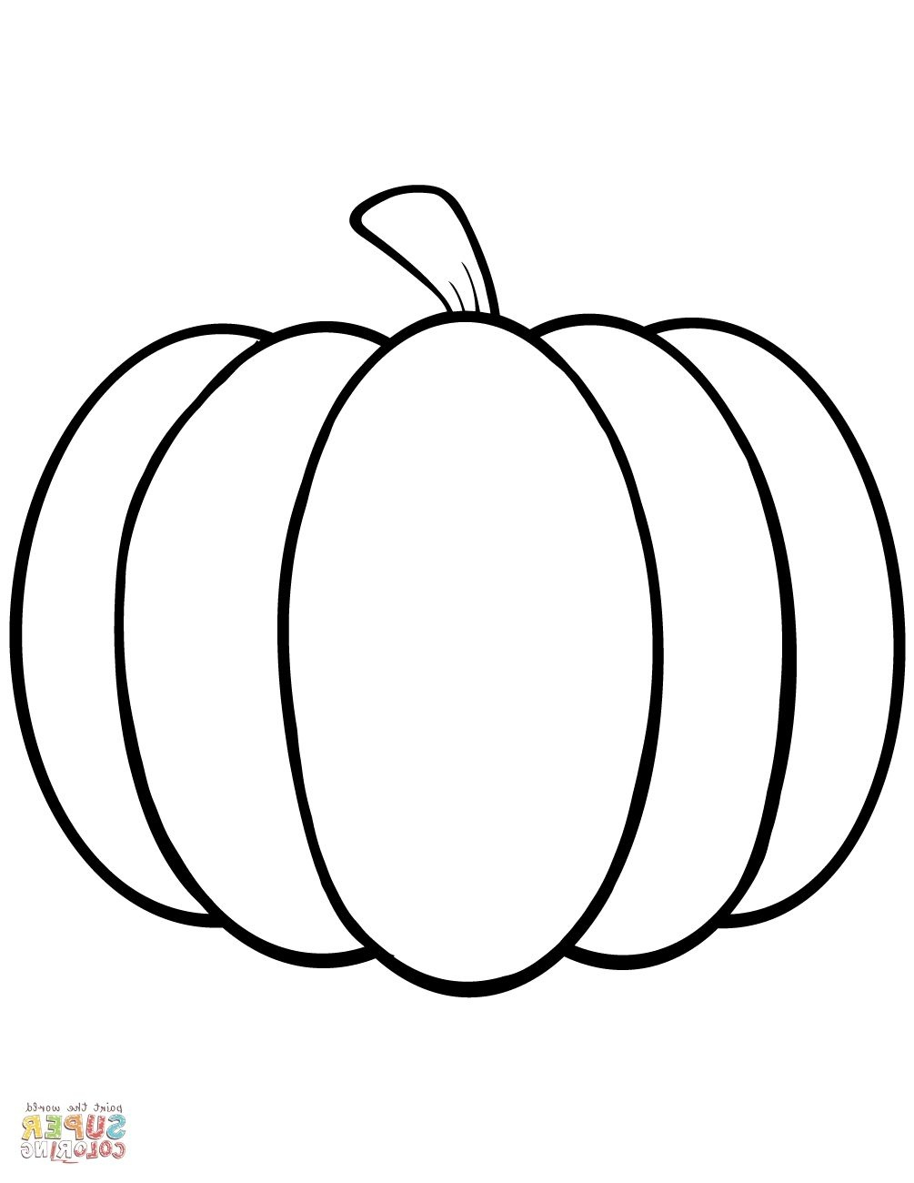 Pumpkin Coloring Sheet | Coloring Page | Pumpkin Coloring Pages - Free Printable Pumpkin Coloring Pages