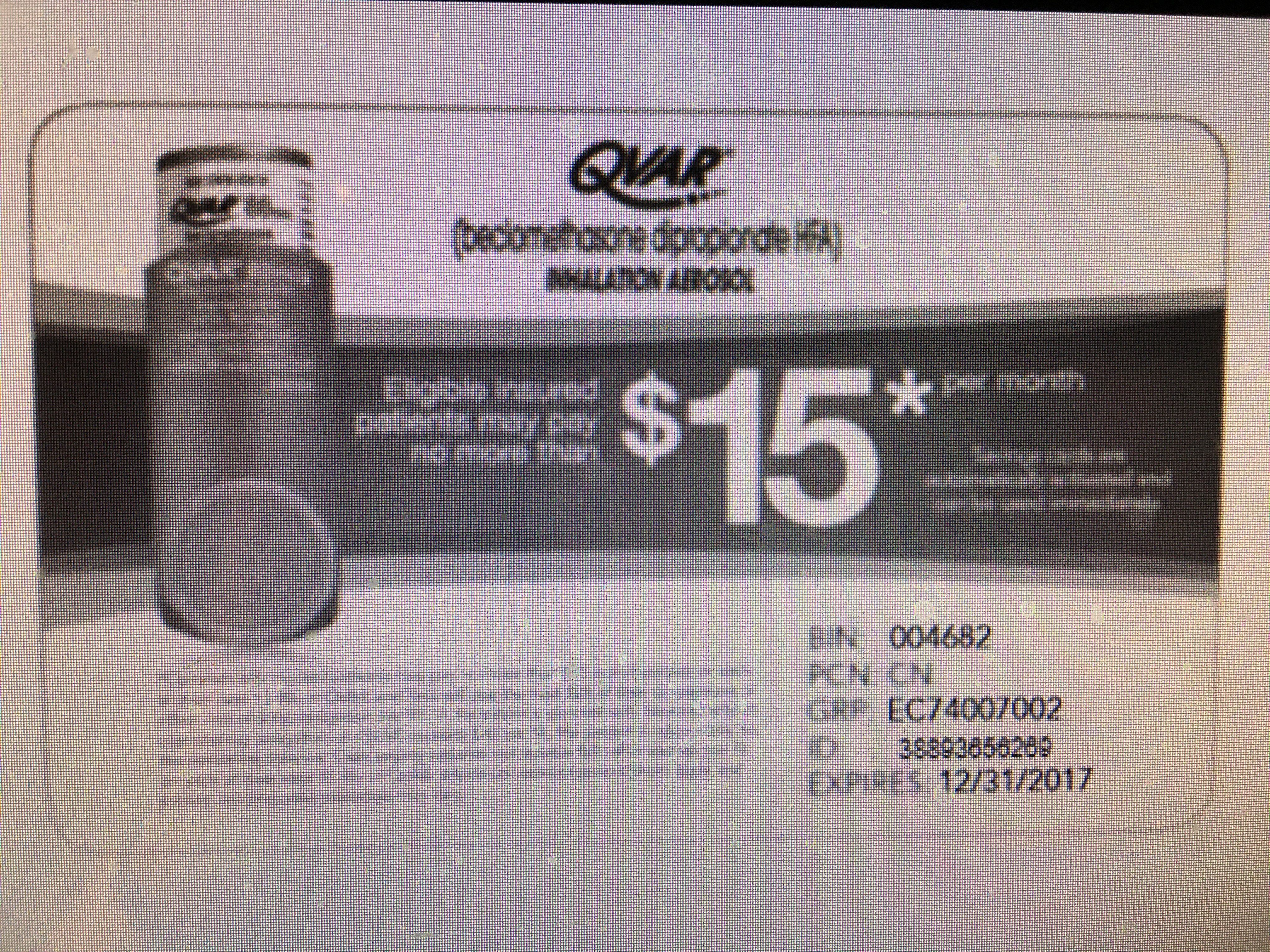 Qvar - Pay As Little As $15 Per…   Drug Savings - Coupons And - Free Printable Spiriva Coupons