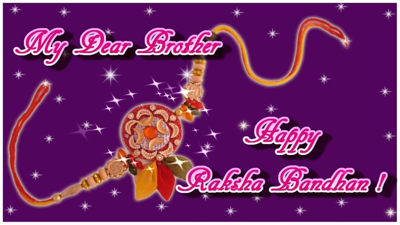 Rakshabandhan Greeting Card   Festival   Rakhi Greetings, Rakhi - Free Online Printable Rakhi Cards