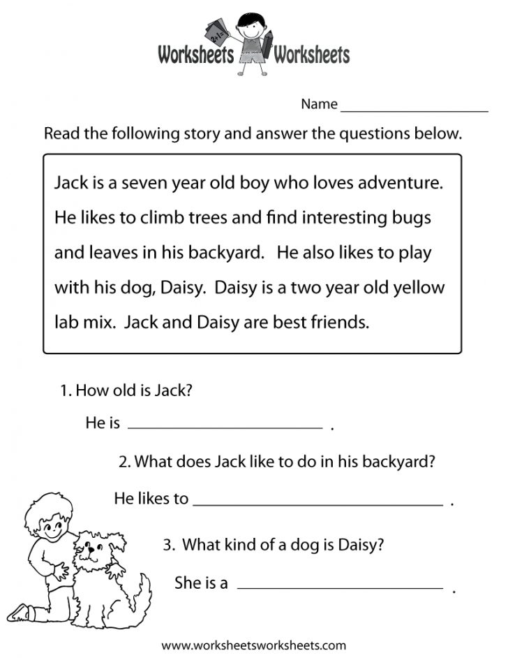 Free Printable Reading Passages With Questions