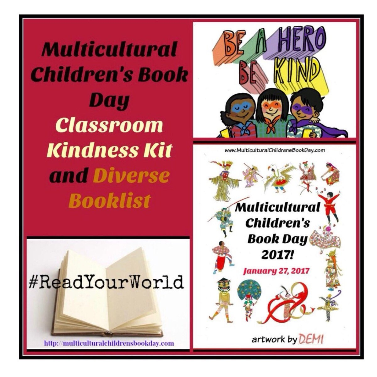 """Readyourworld On Twitter: """"today Is #worldkidnessday! Our Offering - Free Printable Multicultural Posters"""