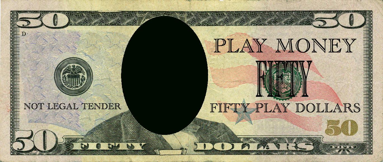 Realistic Play Money Templates   Free Printable Play Money Templates - Free Printable Money