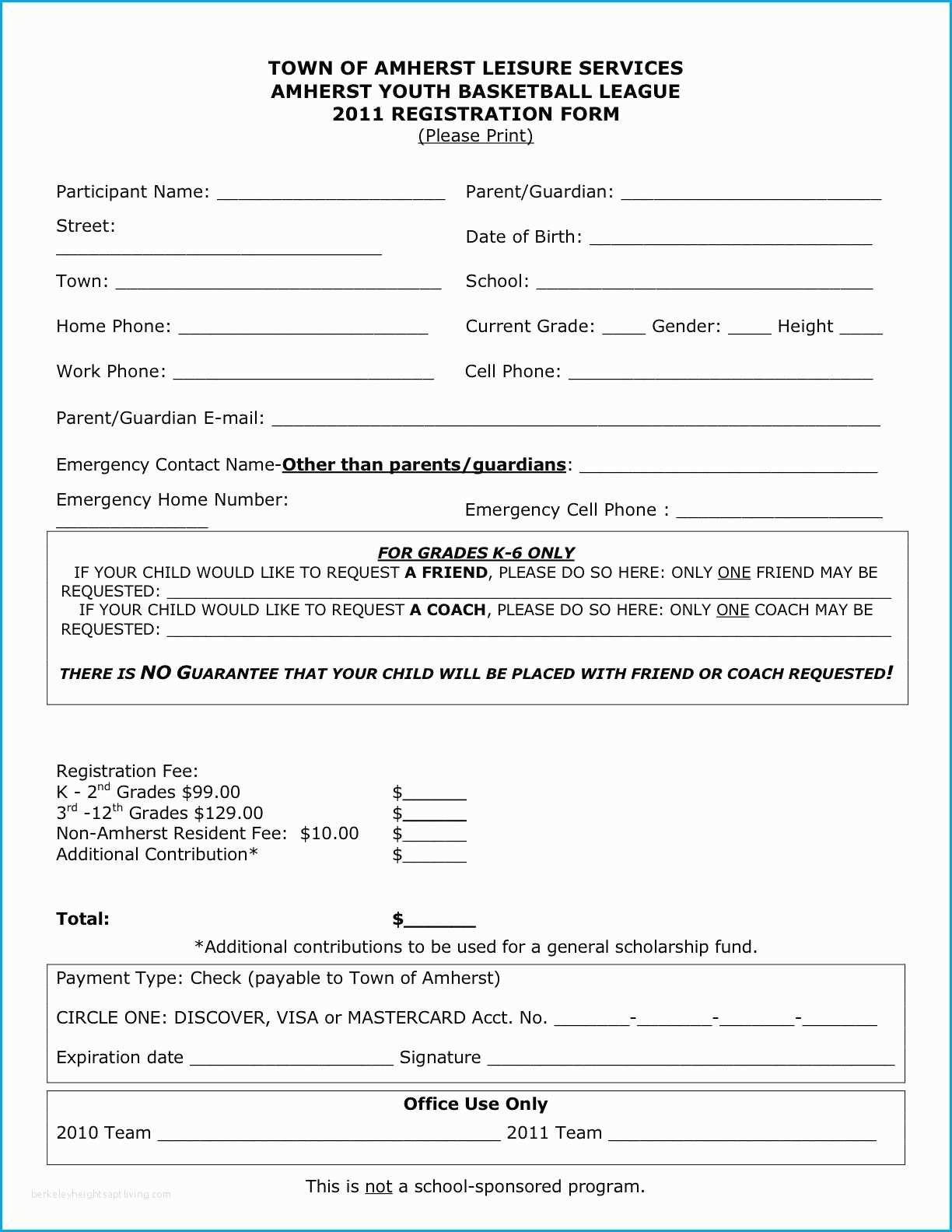 Registration Formmplate Workshop Doc Application Word Printable - Free Printable Membership Forms
