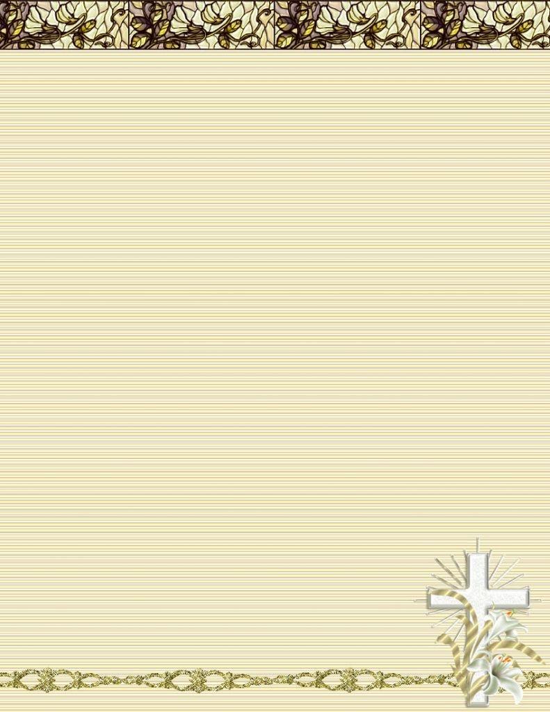Religious Letterhead Design 10 Best Images Of Church Letterhead - Free Printable Religious Letterhead