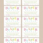 Review Free Printable Diaper Raffle Tickets For Baby Shower   Ideas   Free Printable Baby Shower Diaper Raffle Tickets