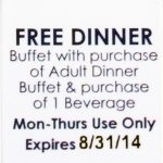 Ruby Electronics:   Old Country Buffet Printable Coupons Buy One Get One Free