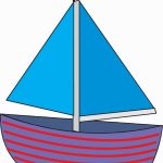 Sailboat Drawing For Kids | Free Download Best Sailboat Drawing For - Free Printable Sailboat Template