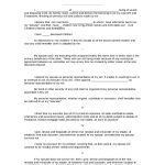 Sample Last Will And Testament Of Form | 8Ws   Templates & Forms   Free Printable Last Will And Testament Forms
