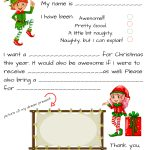 Santa Letters Templates   Tutlin.psstech.co   Free Printable Dear Santa Stationary