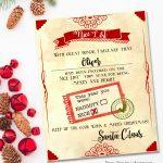 "Santa ""nice List"" Free Printable Certificate   Free Printable Best Daughter Certificate"