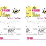 Sassy Sanctuary: Ba'bee' Shower Week  The Games! (Free Printables)   Over The Hill Games Free Printable
