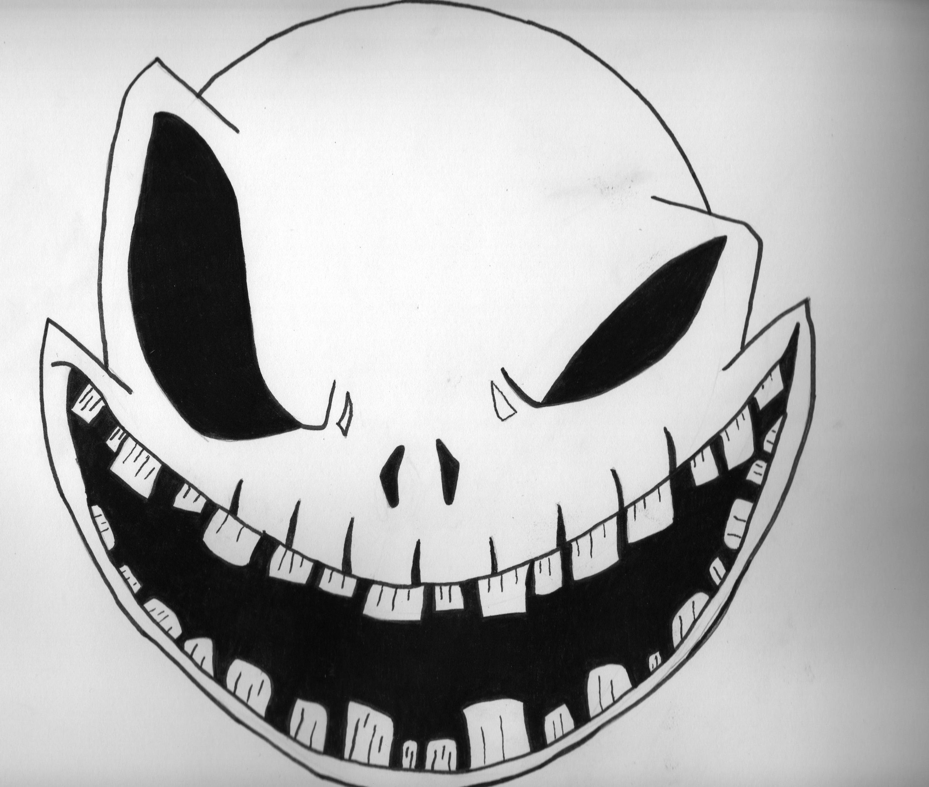 Scary Pumpkin Patterns Free Printable   Monster Face Pumpkin Stencil - Free Printable Scary Pumpkin Patterns