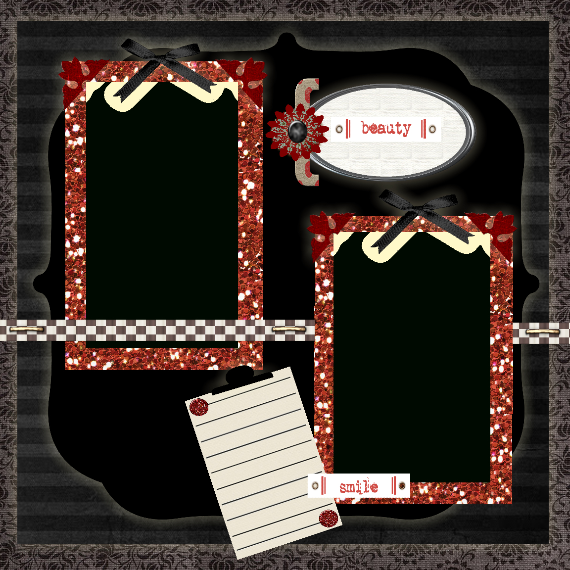 Scrapbook Layouts - Sweetly Scrapped 's Free Printables,digi's And - Free Printable Scrapbook Pages