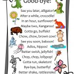See You Next Year | Humor | Goodbye Gifts, Teacher Cards, Good Goodbye   Free Printable Goodbye Cards